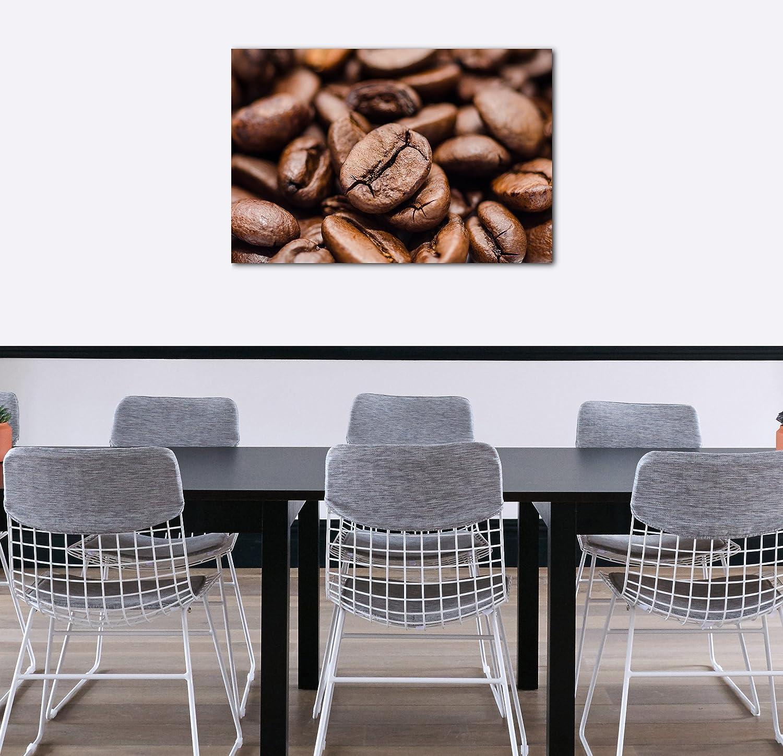Printed Paintings Impresión Sobre Lienzo (60x40cm): Alimentos imágenes de café Cappuccino Granos: Amazon.es: Hogar