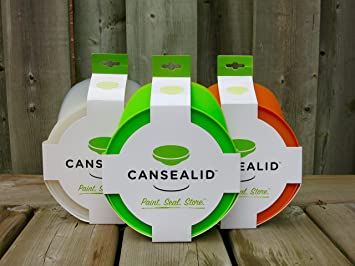 cansealid paint can lid for 37 litre 1 gallon paint cans value pack of