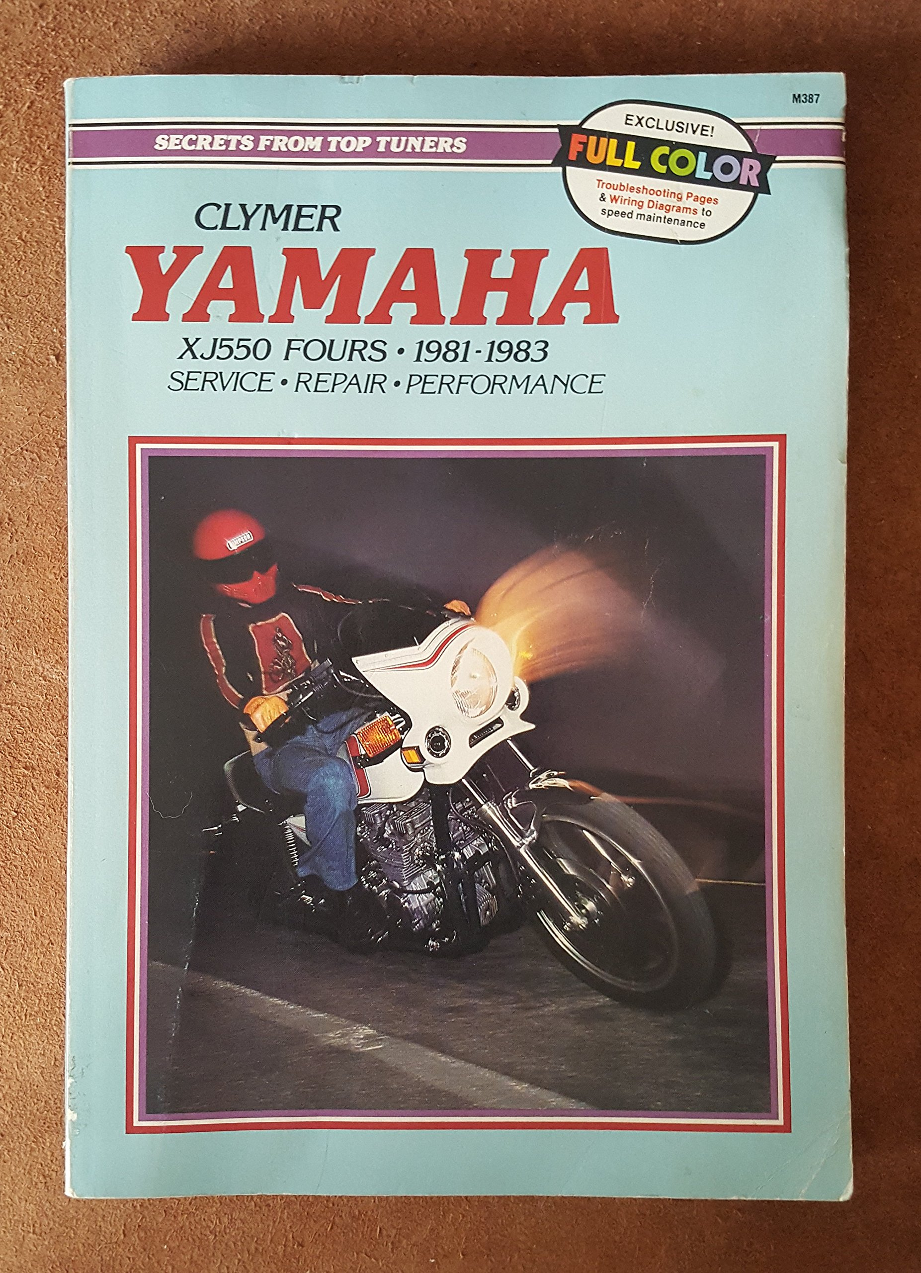 Clymer Yamaha Xj550 Fours 1981 1983 Service Repair Performance Wiring Diagram Ron Wright Sydnie A Wayson Books