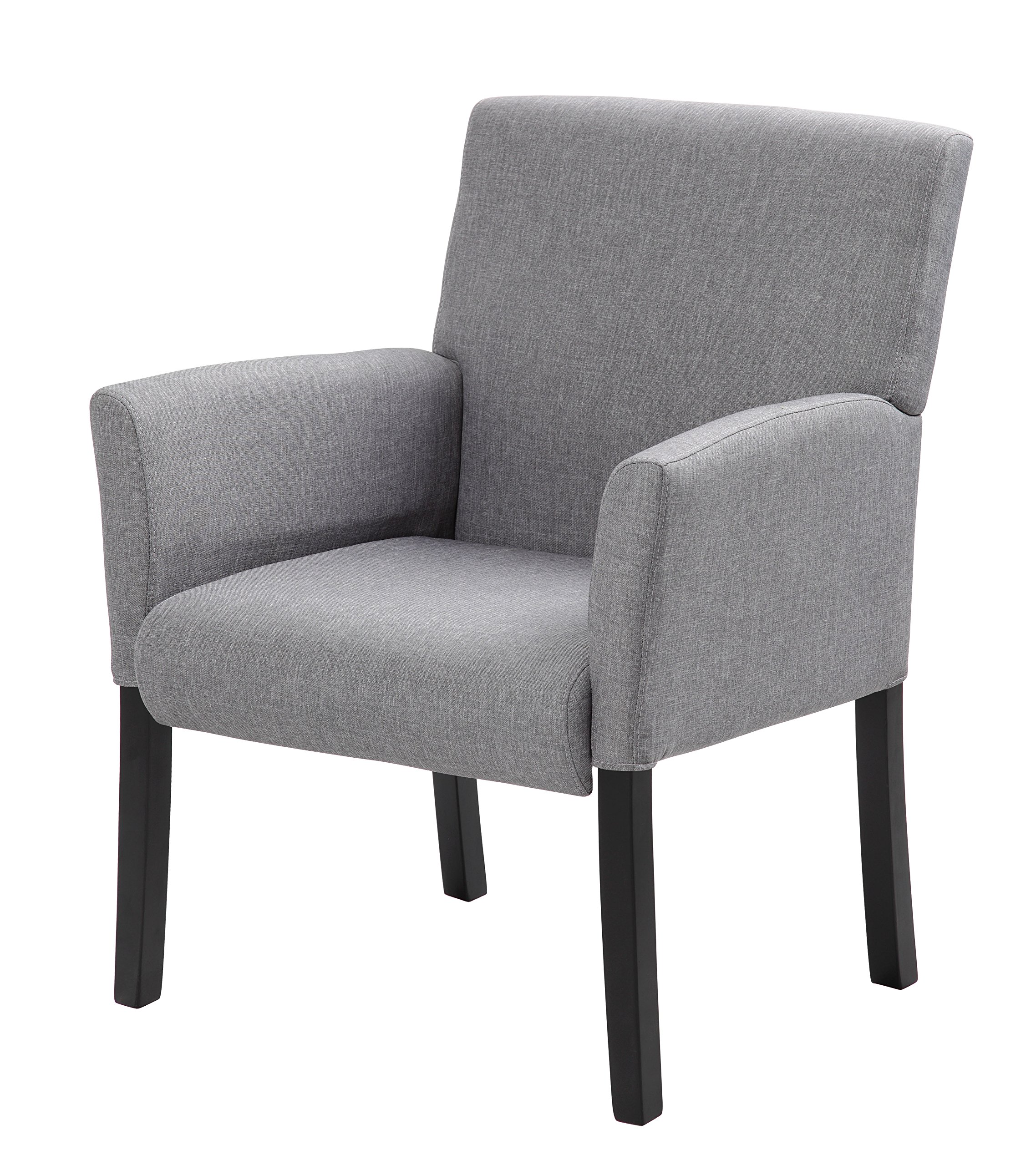 Boss Office Products B659-MG Contemporary Guest Chair in Grey by Boss Office Products (Image #4)
