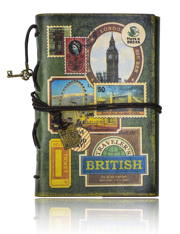 lenzuola Gray-tower FX Gazzetta Diario retr/ò Vintage Classic taccuino 185*130MM 100