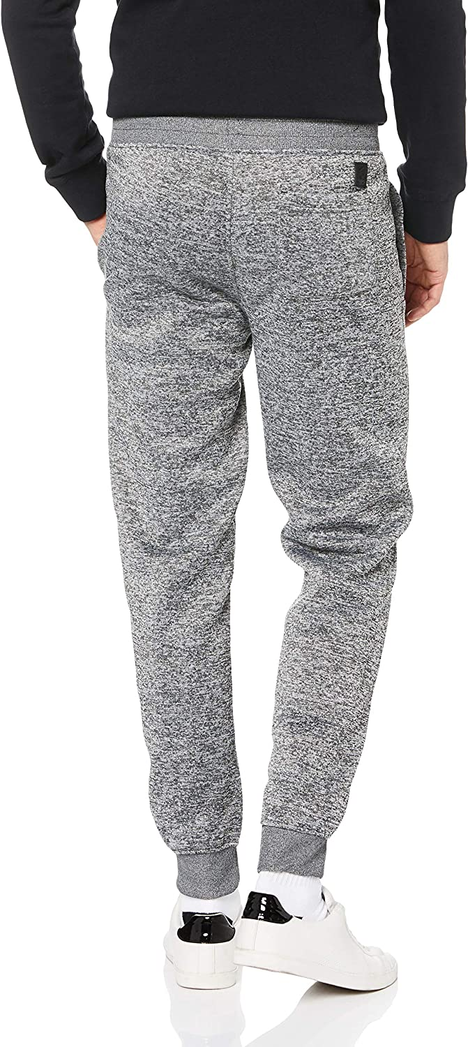 Southpole Men's Basic Fleece Marled Jogger Pant-Reg and Big & Tall Sizes: Clothing