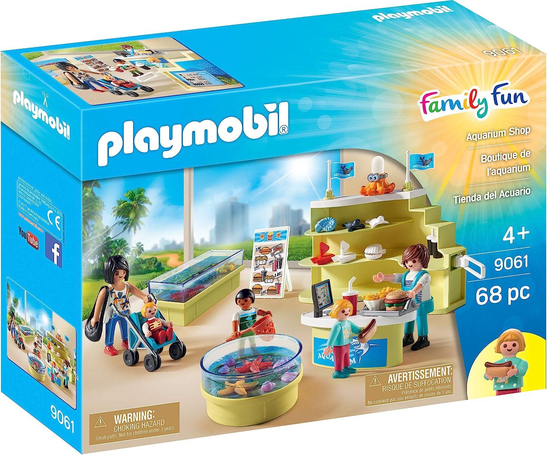 Playmobil Famille Fun Aquarium Shop 9061 New