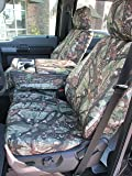 Durafit Seat Covers, F480-DS1-C- Ford F150-F550 XLT and Lariat 40/20/40 Split Seat with Opening Center Console in DS1 Camo Endura