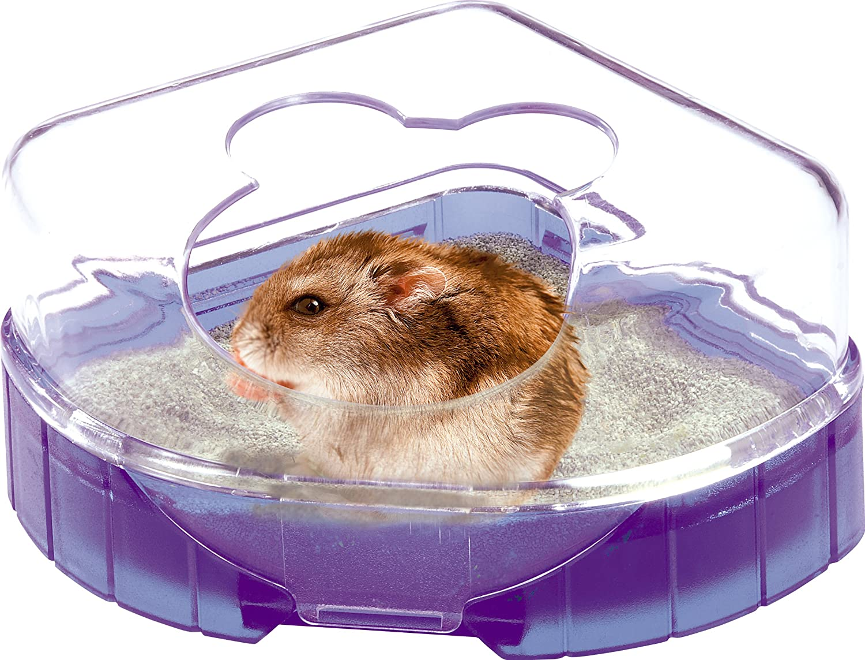 Zolux Ruy Lounge Toilet House Lila baño para hámster, ratón, gerbilles