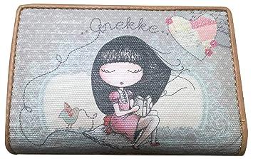 Sany Bags S.L. Anekke Wallet Cartera para Pasaporte, 14 cm, Beige: Amazon.es: Equipaje