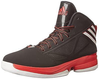 best service ccee8 4d24e adidas Performance Mens Mad Handle 2 Basketball Shoe, Core  BlackWhiteScarlet,