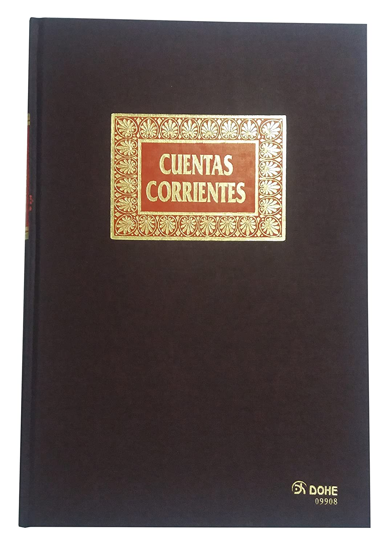 Dohe 9908 - Libro de contabilidad, Cuentas Corrientes, folio natural