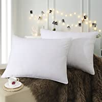 Down Alternative Pillow(2-Pack,48cm x 73cm),Bed Pillows for Sleeping-Washable,Hypoallergenic Microfiber Pillow