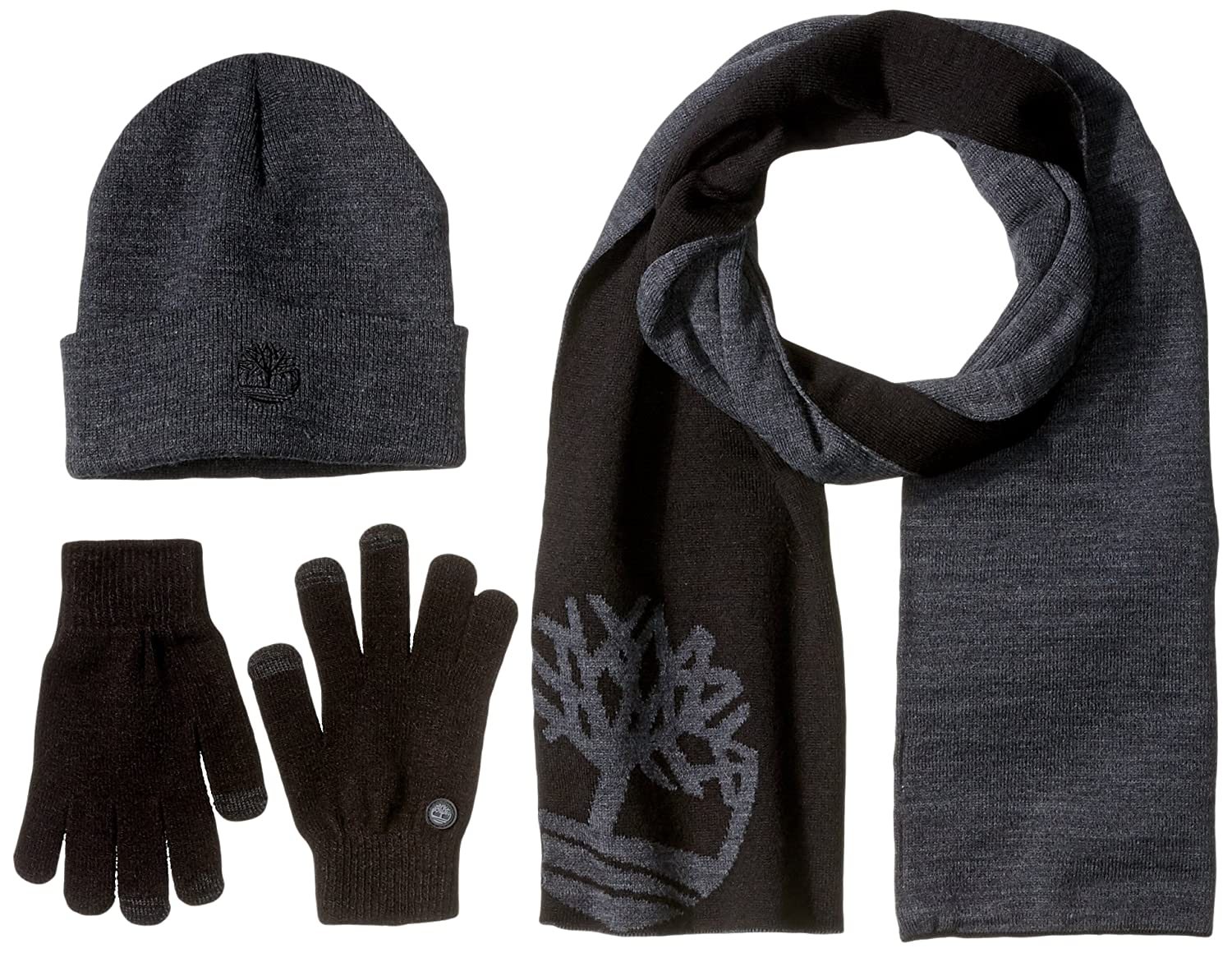 Timberland Mens Winter Hat Charcoal One Size TGFT3005 4f760b4beceb