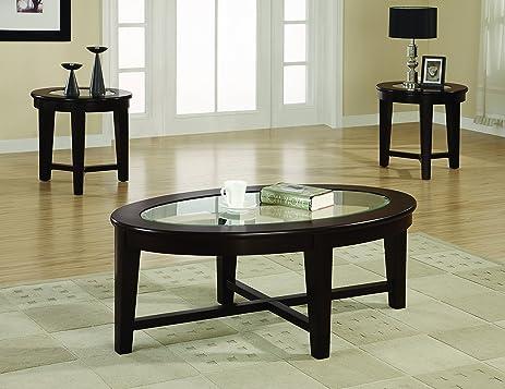 Amazon.com: Coaster Home Furnishings 701511 3-Piece Contemporary ...