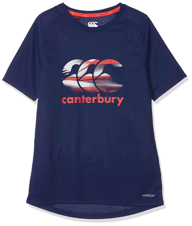 Canterbury Vapodri Poly Logo Camiseta, Niñ os Niños