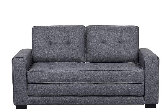 Amazon.com: US Pride Furniture S5331 Daisy - Sofá cama ...