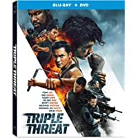 Triple Threat  (Blu-Ray/Dvd)