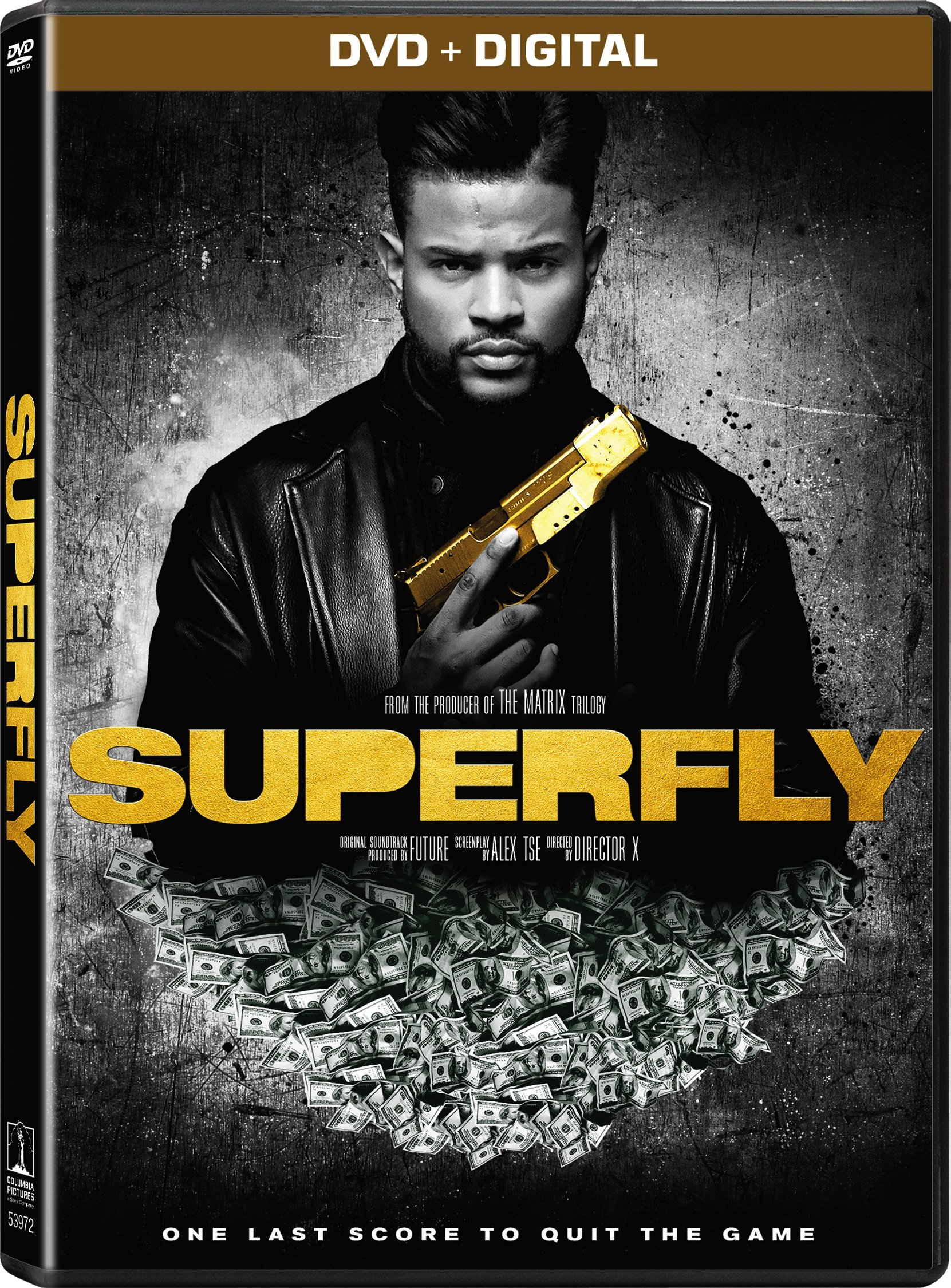DVD : Superfly (Digital Copy, Widescreen, Subtitled, AC-3, Dolby)