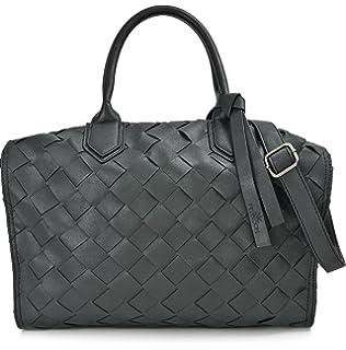 c92d7fc821243 Hochwertige Damen Handtasche - Umhängetasche mit abnehmbarem ...
