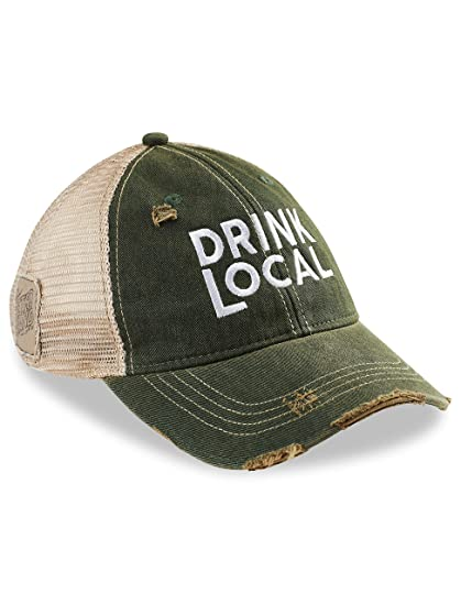 b4f12ce8c26 Retro Brand Drink Local Baseball Cap at Amazon Men s Clothing store