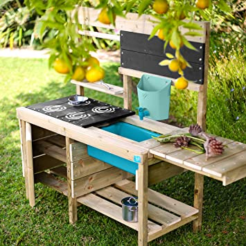 FREE UK SHIPPING Mud kitchen with water//sand table