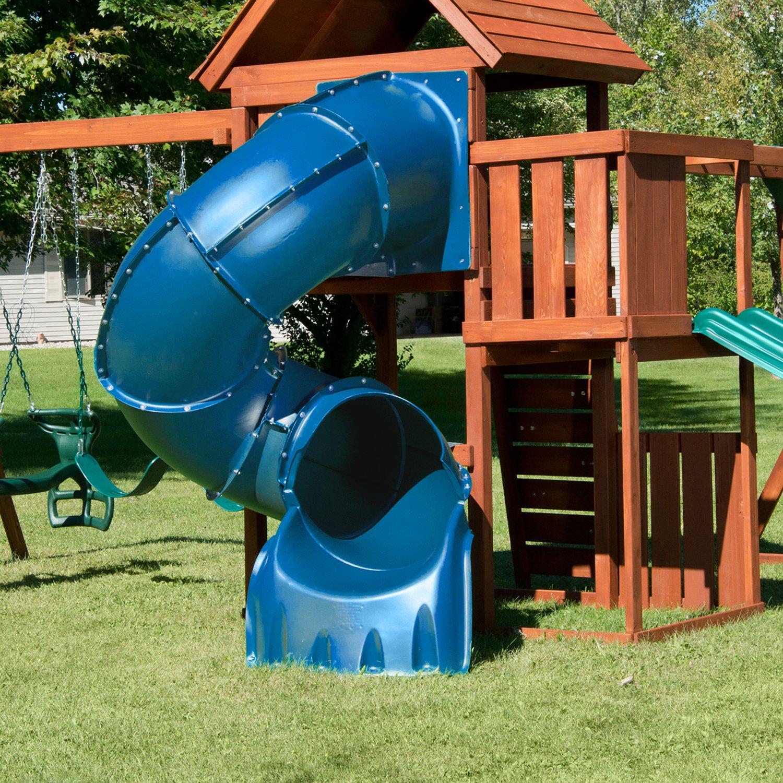 5 Ft Turbo Tube Slide, Blue by Swing-N-Slide (Image #2)