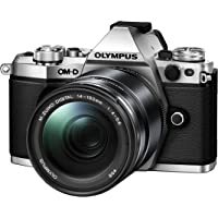 Olympus E-M5 Mark II 14-150 II Kit Fotocamera OM-D E‑M5 MARK II e Obiettivo M.ZUIKO Digital ED 14‑150mm 1:4.0‑5.6 II, Argento