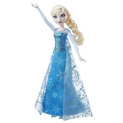 Amazon.com: Frozen Disney Musical luces Elsa muñeca: Toys ...