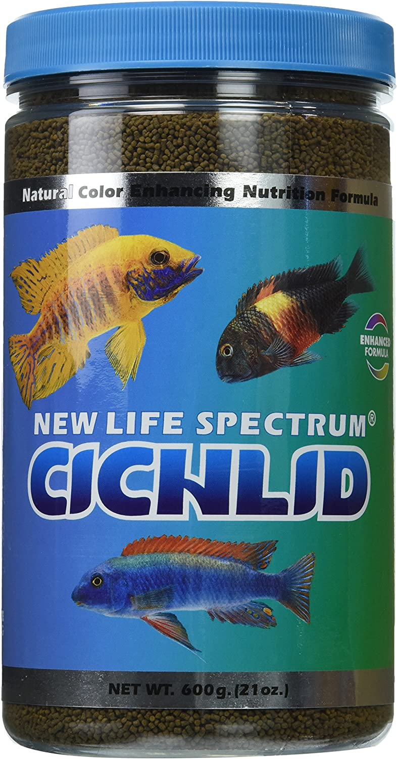 New Life Spectrum Naturox Series Cichlid Formula Supplement, 600g