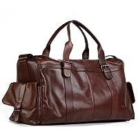 FEYNSINN Reisetasche ASHTON - Herren Weekender XL groß Ledertasche - Sporttasche Herrentasche echt Leder