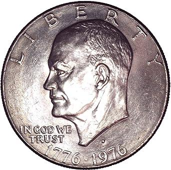1976 $1 Eisenhower Ike Dollar Type 2 BU Roll 20 Coins