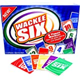 Wackee Six - The Popular, Fun, Easy, Speed Card Game that's a great Group or Family Card Game