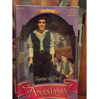 Anastasia Together in Paris Dimitri Doll from 1997: Toys & Games