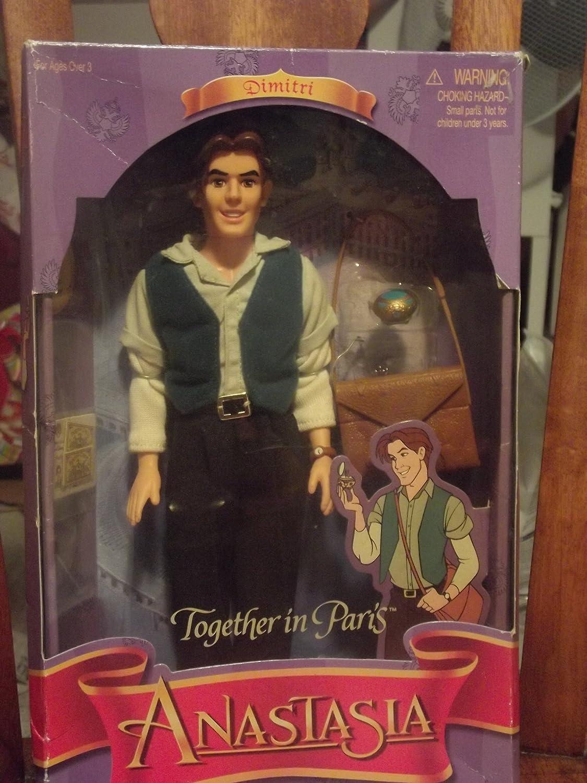Amazon.es: Together in Paris DIMITRI doll from Anastasia - 1997: Juguetes y juegos