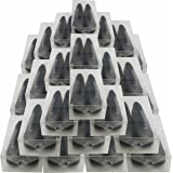 DynaSun PP368 XXL Cajas de Almacenaje Para Zapatos Apilable Plegable Contenedor Organizador Transparente para Hombres Damas y Señoras