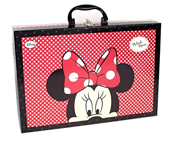 Minnie Mouse - Maquillaje, maletín con asa (Markwins)