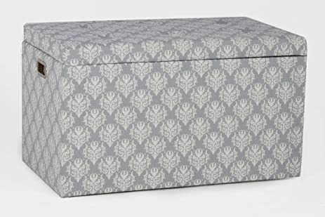 Oliver And Smith   5 Pc Cloth Storage Ottoman With Stools   3 Ottomans U0026 2