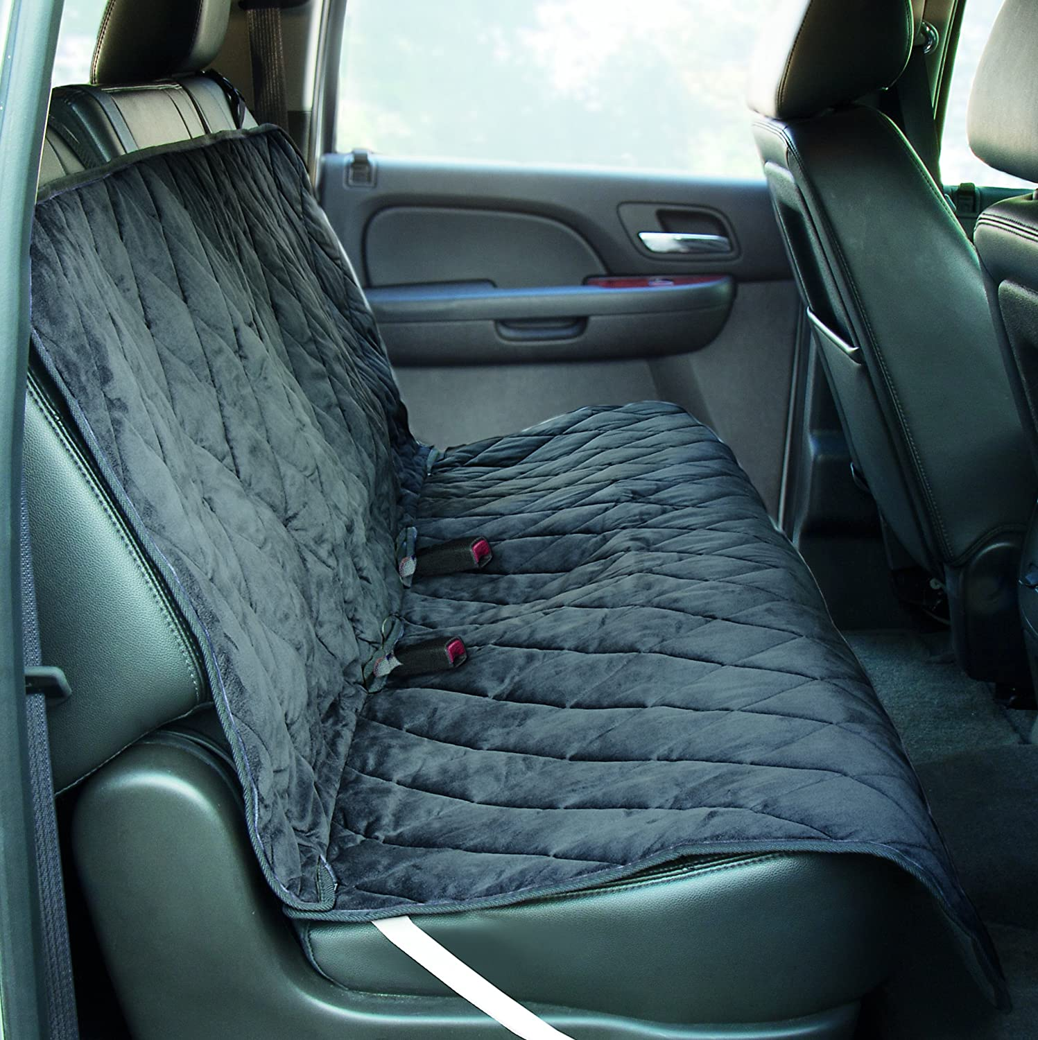 Amazon.com : Yes Pets Quilt Suede, Waterproof, Tear Proof Bench ... : quilted car seats - Adamdwight.com