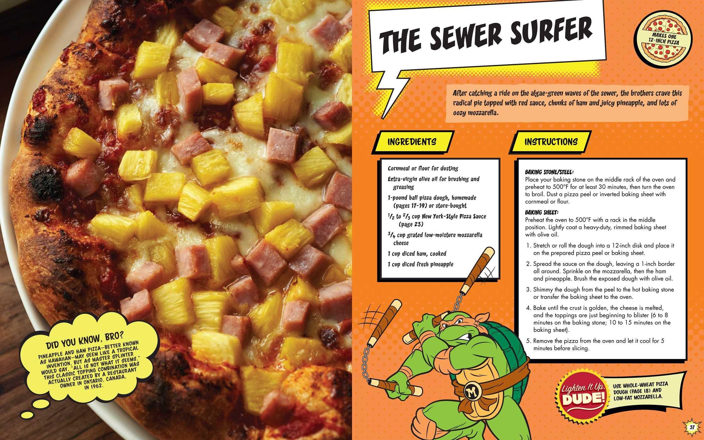 The Teenage Mutant Ninja Turtles Pizza Cookbook Peggy Paul - 6 awesomely bizarre european food festivals