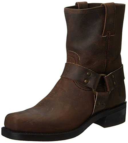 FRYE Men's Harness 8R Boot,Gaucho-87400,7 ...