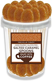 product image for Salted Caramel Flavored Coffee Spoon Hard Candy Stirrer (30 Count)