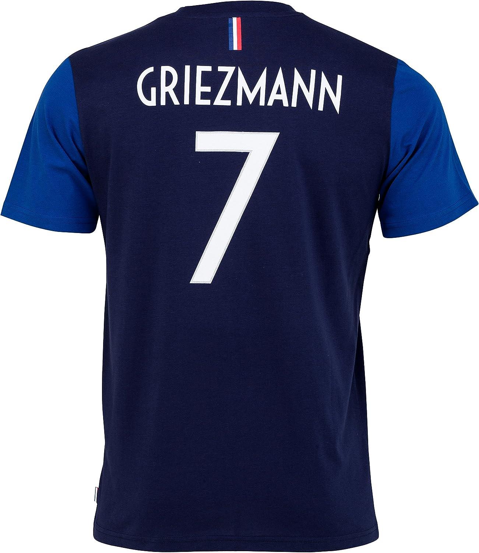 Equipe de FRANCE de football -Camiseta oficial de la selección de Francia de fútbolFFF- Antoine Griezmann -Talla infantil