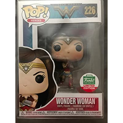 Funko Pop 226 Wonder Woman Limited Edition: Toys & Games
