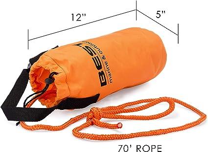 Amazon.com: Bolsa de rescate con cuerdas de lanzamiento ...