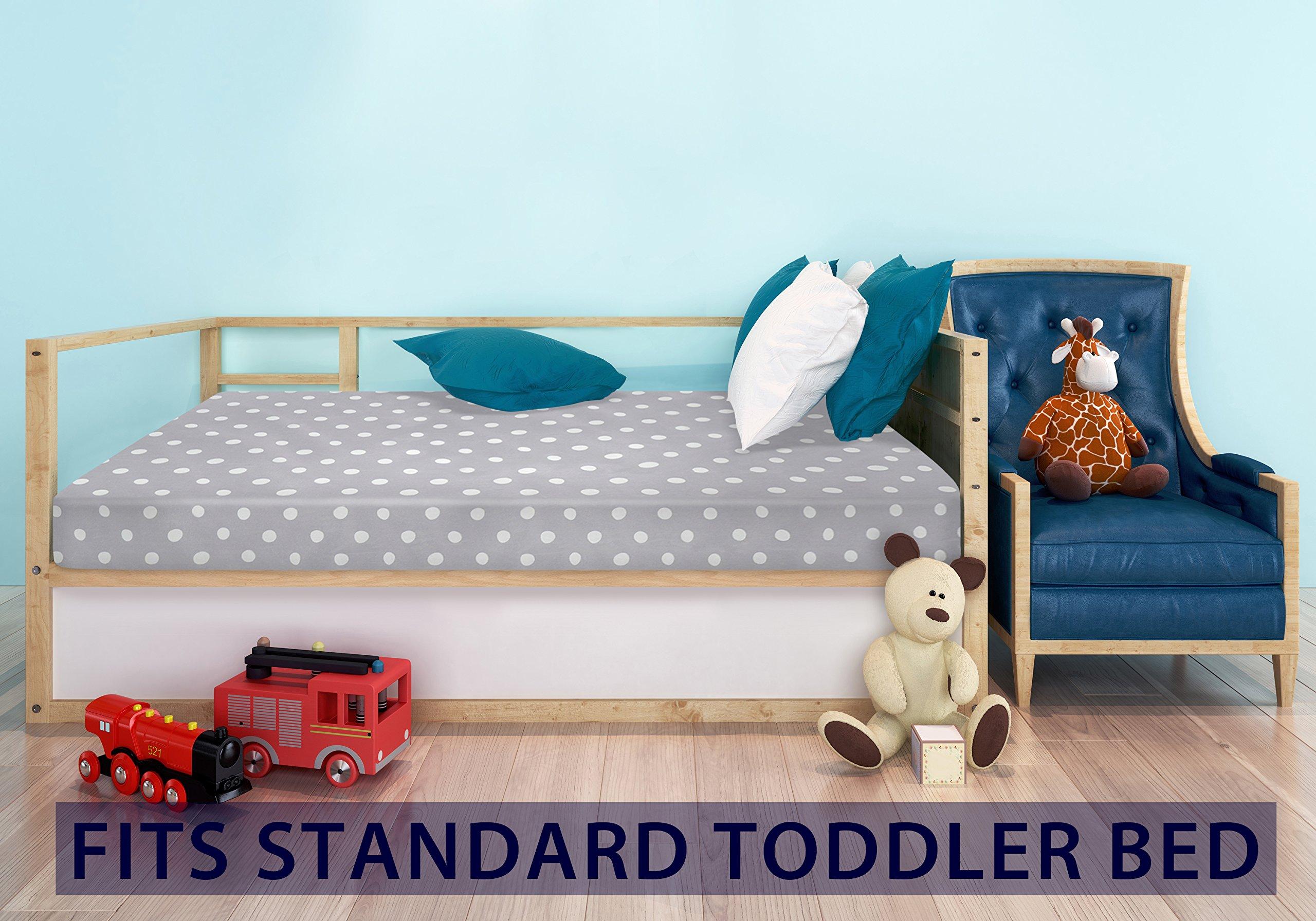 Milliard Crib Mattress and Toddler Bed Mattress | Hypoallergenic + Waterproof Encasement | 27.5''x52''x5'' by Milliard (Image #6)