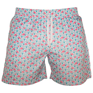 "78ab0af328 Meripex Apparel Men's 5.5"" Inseam Swim Trunks (Small (Waist: 26""-"