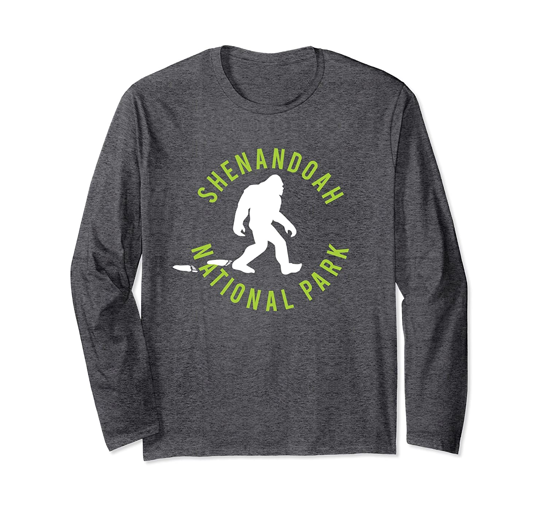 Shenandoah National Park Bigfoot Long Sleeve T Shirt-ah my shirt one gift