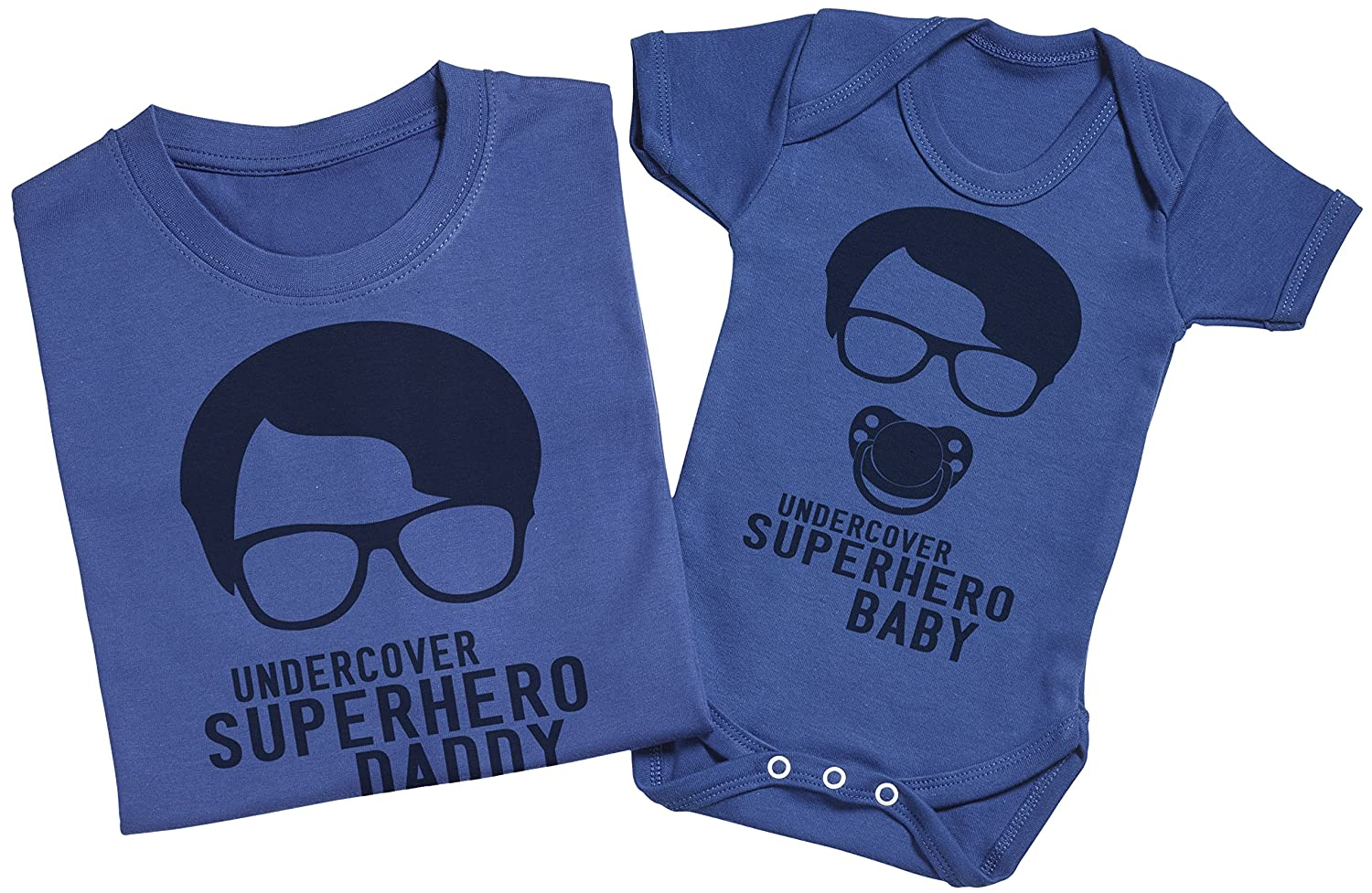 Matching Father Baby Gift Set Zarlivia Clothing Whos The Daddy? Mens T Shirt /& Baby Bodysuit