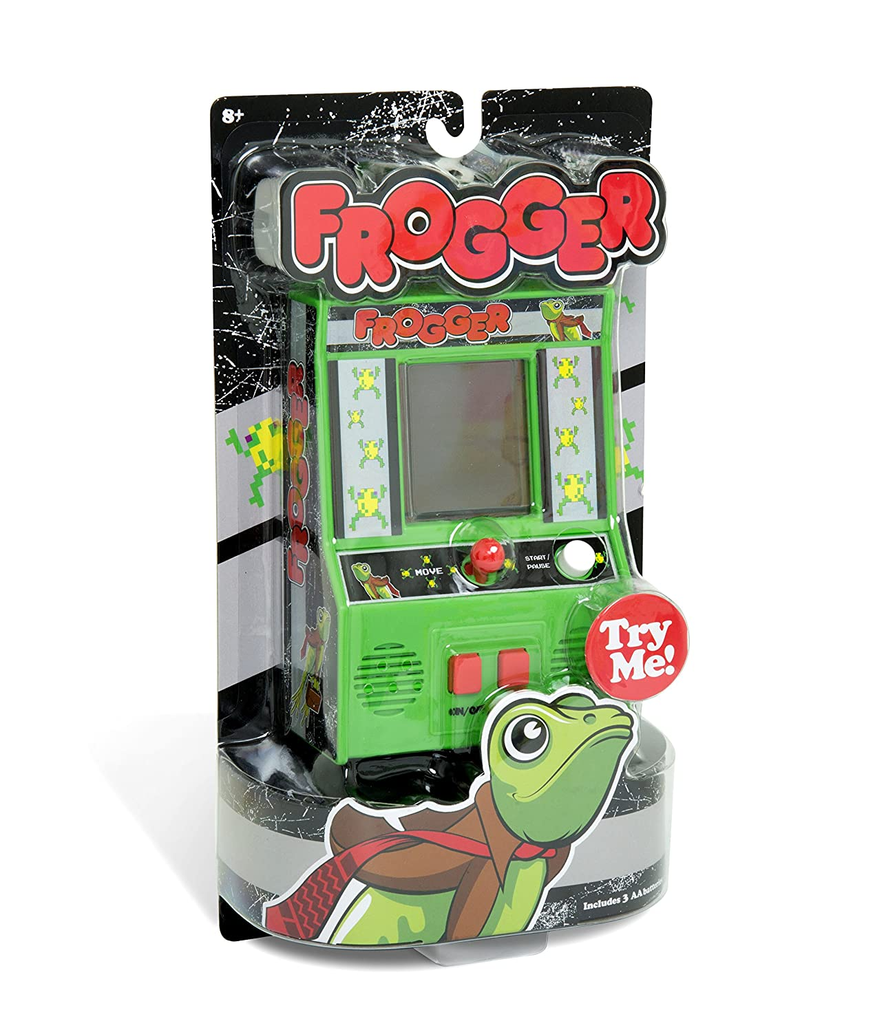 Frogger Mini Arcade Game. Asteroids, Centipede and QBert also available.