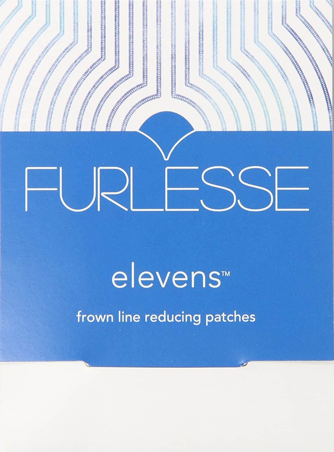 Furlesse–Relax linee sottili tra gli occhi Furlesse Elevens anti-aging Patches for Frown Line Wrinkles
