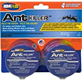 PIC Homeplus Ant Killer Metal Bait Stations, 4Count