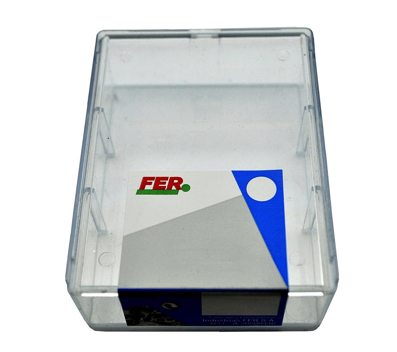 FER 43692 Caja Profesional Pl/ástico Tornillo Autotaladrante Cabeza Hexagonal 4,80x16 Zincado con arandela Set de 26 Piezas