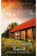 Quinn Family Ranch: Sweet Family Saga (Five Book Boxed Set) Kindle Edition